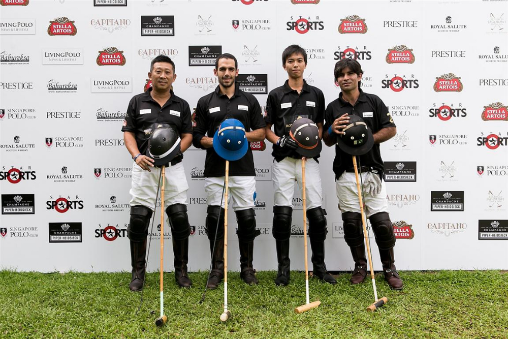 4 Paisano Polo Academy playing as AFRICA sponsored by Royal Salute